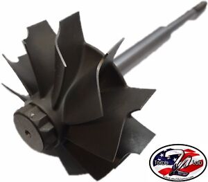 Holset H1e H1c Hx35 Hx40 67mm X 76mm 10 Blade Turbine Wheel Shaft Upgrade