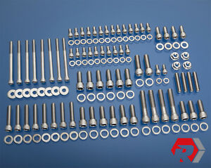 Sbc Small Block Chevy W Vortec Heads Stainless Steel Bolt Kit 062 096 5 7l 350