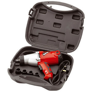 Clarke 1 2 Drive Electric Impact Wrench Powerfull 450nm Torque Cew1000