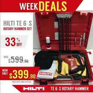Hilti Te 6 s Excellent Condition Free Bits A Lot Of Extras Fast Shipping