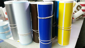 6 X60 Vinyl Windshield Banner Decal Strip Racing Stripe Sticker Window Blank
