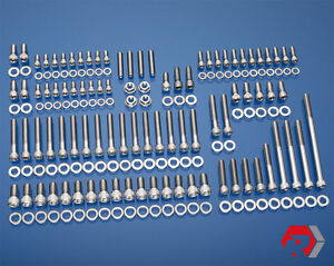 Ford 351w Stainless Bolt Kit Pre 77 Windsor Small Block Ford Pass Side H20 Inlet