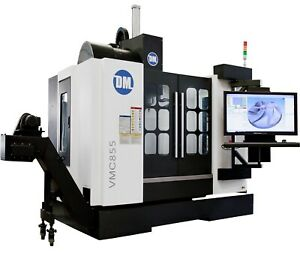 3 4 5 Axis Vertical Machining Center Fully Enclosed Atc Cad cam Cnc Cmm