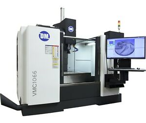 Vmc1066 3 4 5 Axis Cnc Vertical Mill With Built In Cad cam And Cmm