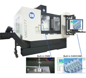 Vmc1277 Vertical Cnc Machine With Built In Cad cam Cmm