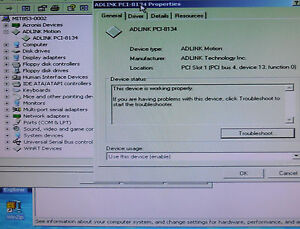 Adlink Pci 8134 005 Tested