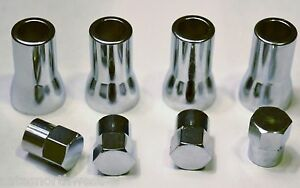 Tpms Tire Valve Stem Cap Sleeve Cover Chrome Set American Cars And Trucks