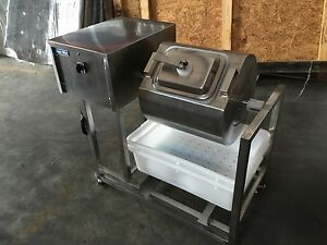 Meat Poultry Tumbler Marinator Bloating Mixer Machine S s