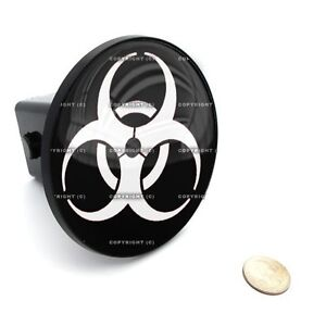 2 Tow Hitch Receiver Cover Insert Plug For Most Truck Suv Zombie Outbreak W