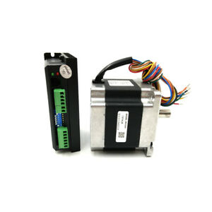 4 5nm Nema34 2 Phase 86hs45 Hybrid Step Motor Dm860 Stepper Drive Kit For Cnc