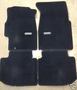 Genuine Oem Honda Civic 2dr Coupe Black Carpet Floor Mat Set 1996 2000 Mats