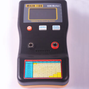 Auto Range In Circuit Esr Capacitor Meter Tester Up To 0 001 To 100r Mesr100
