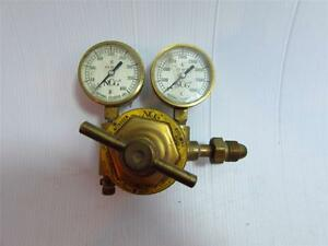 National Cylinder Gas Chemetron Corp Pressure Gauge Valve Control Model N1608