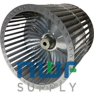 York Luxaire S1 026 19654 705 Squirrel Cage Furnace Blower Wheel 10 5 x10 5 Cw