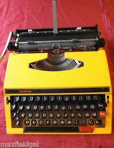 Refurbished Brother 660 Tr De Luxe Manual Portable Typewriter Case Warranty