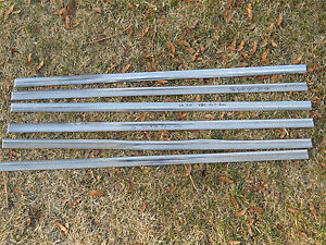 56 Chevy 4 Dr 210 Sedan Exterior Stainless Trim Front And Rear Door