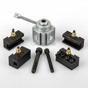 Mini Quick Change Tool Post Set For 7x10 7x12 7x14 Table hobby Lathes