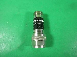 Rosenberger Attenuator 3 Db 2 W 53as102 k03 Used