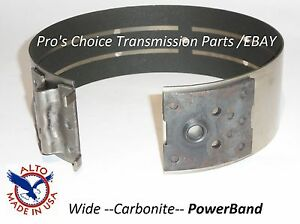 Thm Th 700 R4 700r4 Transmission Alto Wide Carbonite Carbon Lined Power Band