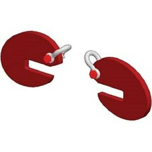 New M w Pipe Lifting Hook Sold In Pairs 4000 Lb Capacity