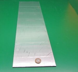 1100 Aluminum Sheet Softened o 090 Thick X 6 0 Wide X 24 0 Long
