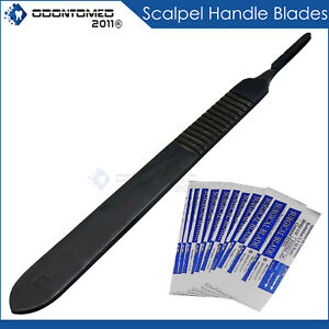 27 Pcs Gold Handle Student Dissection High Grade Kit scalpel Blades 20
