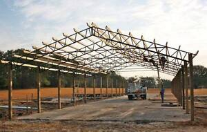 Steel Roof Truss For 60 For Hay Barns Horse Stalls Agriculture Pole Barn