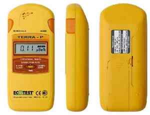 Ecotest Geiger Counter Radiation Detector Dosimeter Terra p English Version