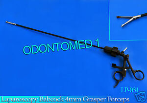 Laparoscopy Babcock 4mm Grasper Forceps Laparoscopic Instruments Odm lp 031