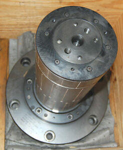 Gear Hobber 5 3910 Expandable Machine Arbor Hydraulic Chuck 15 Mandrel 15 M