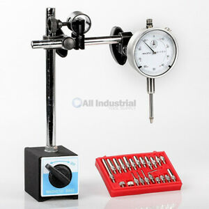 Dial Indicator Magnetic Base Point Precision Inspection Set