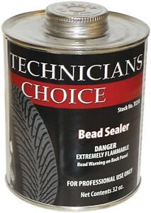 6 32oz Cans Extra Thick Bead Sealer Quart Can Black Tire Repair