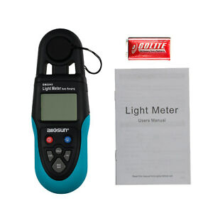 Digital Light Illuminance Meter Handheld 0 99999 Lux Luxmeter With Lcd Display