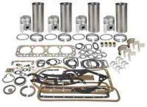 Bekh1168 Farmall Late 400 All 450 Engine Overhaul Kit W bearings