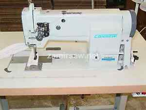 Consew P1255rb Walking Foot Needle Feed sewing Machine reverse Consew 255rb