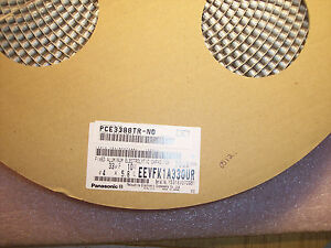 Qty 2000 33uf 10v 105 Low Impedance Smd Electrolytic Eevfk1a330ur Panasonic