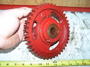 Old Ihc 3hp Vertical Famous Titan Cam Gear Shaft Hit Miss Gas Engine Steam Nice