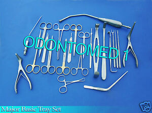 Major Basic Tray Of 106 Instruments Surgical Medical