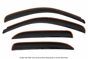 Avs Rainguards Fit 00 06 Chevy Tahoe Yukon Smoked In channel 4pc 194304