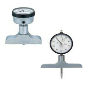 Mitutoyo 7211 Absolute Dial Depth Gage 200mm Range