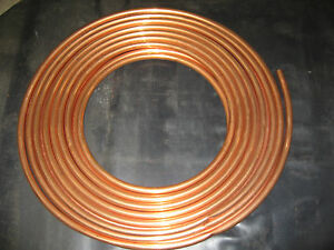 Mueller Industries Cooper Tubing 605 Type K Soft Coil Water 3 4 In x 60ft