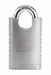 New Stanley Hardware S828 160 Cd8820 Shrouded Hardened Steel Padlock Ships Free