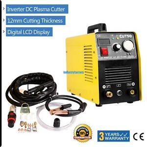 Portable Electric Cut50 Air Plasma Cutter Digital Inverter Cutting Machine 50amp