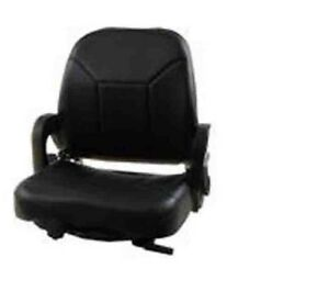 Suspension Forklift Seat For nissan Vinyl Hip Restraints