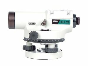 Nikon Ac 2s Automatic Auto Level 24x Optical Transit Survey Mag Dampen Autolevel