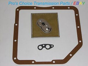 Turbo Hydramatic 350 Automatic Transmission Oil Filter Pan Gasket Service Kit