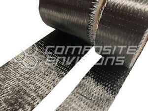 Carbon Fiber Cloth Fabric Uni Directional 1 50 Yards free Usa Shipping
