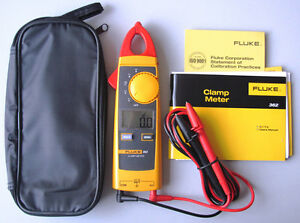Usa Seller Fluke 362 Handheld Digital Multimeter Clamp Meter 200a F362
