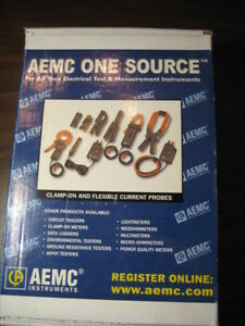 Aemc Instruments Ampflex Adjustable Length Flex Amp Probe 3000 24 1 1 Fluke New
