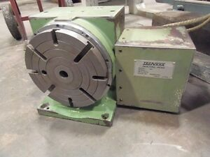 Rotary Table indexer 9 Diameter Mmk Tecnara Model Hd 230 1r S S Precision